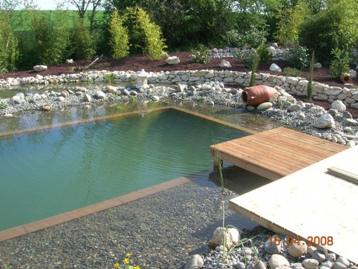 bassin d 39 ornement bassin de baignade paysagiste toulouse les jardins du sud. Black Bedroom Furniture Sets. Home Design Ideas